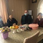 90-летие отметила труженица тыла, жительница аула Эркен-Юрт.