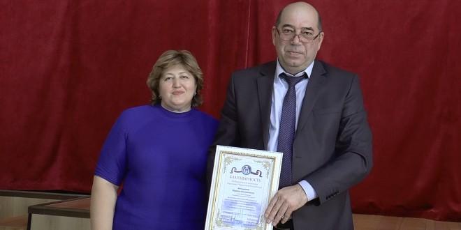 Торжественное вручение наград членам избирательных комиссий Ногайского муниципального района.