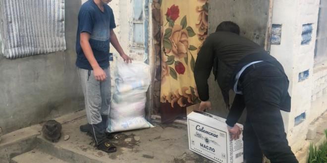 Нуждающиеся семьи Ногайского района получили продуктовые наборы от Главы КЧР Рашида Темрезова