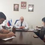 Глава Администрации Ногайского района Мурат Хапиштов провел личный прием граждан