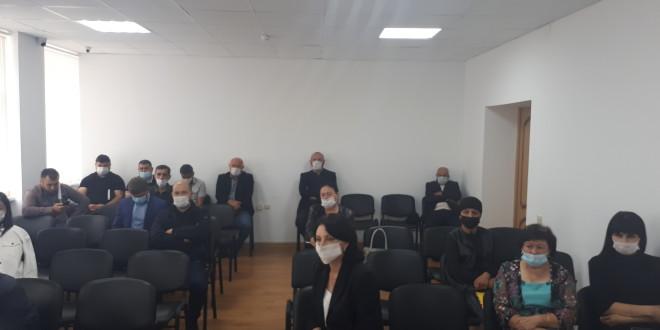 Глава администрации М.А.Хапиштов провел итоговое совещание по подготовке района к голосованию.