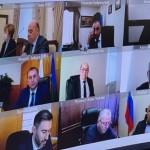 Глава администрации Ногайского района Мурат Хапиштов принял участие в заседании Оперативного штаба Республики по противодействию распространения COVID-19 в режиме конференцсвязи под председательством Мурата Аргунова.